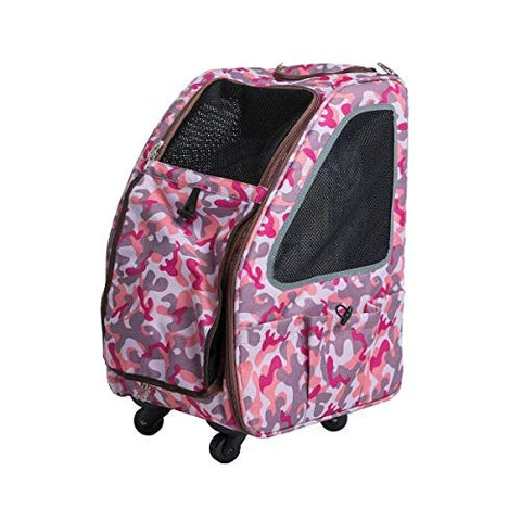 PETIQUE PC01010103 Pet Stroller, Pink Camo, One Size