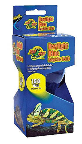 150 Watt Daylight Blue Inc Reptile Bulb (DB-150) - Peazz Pet