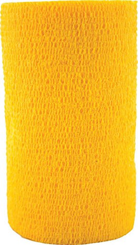 "3M Health Care 10116 3M Vetrap Bandage Tape, 4"" X 5 Yard Roll, GOLD - Peazz Pet"