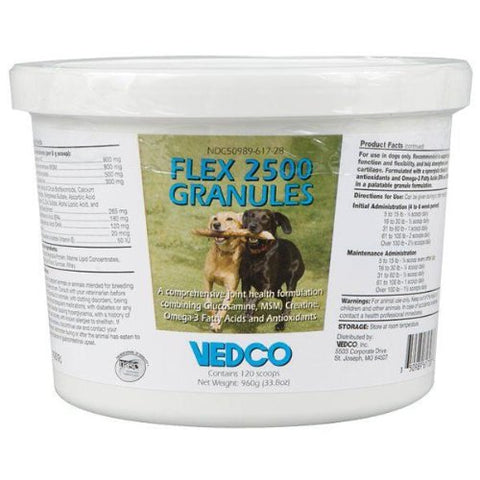 Flex 2500 Granules, 960gm - Peazz Pet