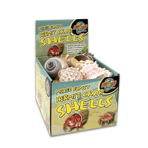 ZooMed Hermit Crab Fancy Shells 24pc Counter Display (hc-40)