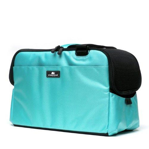 Sleepypod Atom AT-ROB Metro Pet Carrier (Robin Egg Blue) Small - Peazz Pet