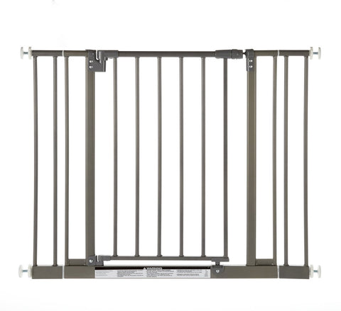 North States NS4915 Easy-Close Wall Mounted Steel Pet Gate