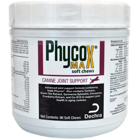 Phycox Max Canine Joint Support, 90 Soft Chews - Peazz Pet