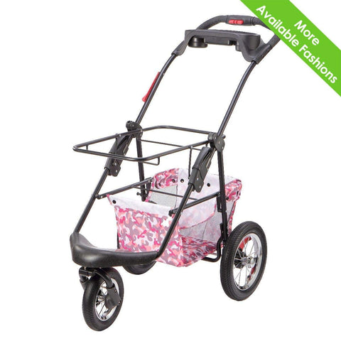 PETIQUE PC02010103 Pet Stroller, Black, One Size