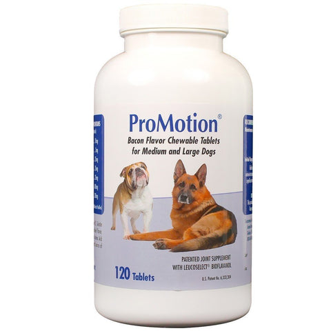 ProMotion For Medium & Large Dogs, 120 Chewable Tablets - Peazz Pet
