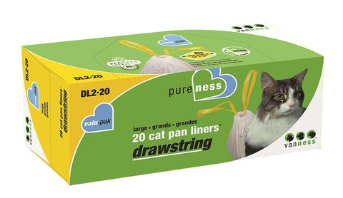Drawstring Large Liners 20pk (DL2-20) -Peazz Pet