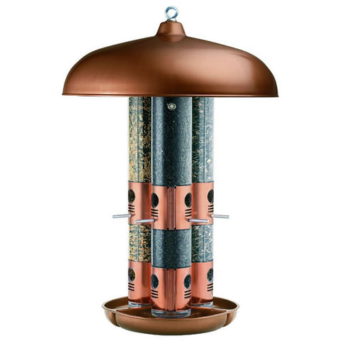 Triple Tube Feeder Copper  (7103-2) - Peazz Pet