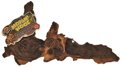 Reptile Mopani Wood Natural Large (Mw-L) - Peazz Pet