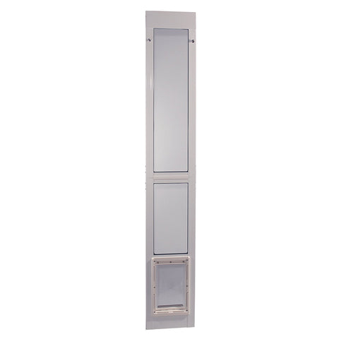 Ideal Modular Pet Patio Door White - Medium (MODPATMW) - Peazz Pet