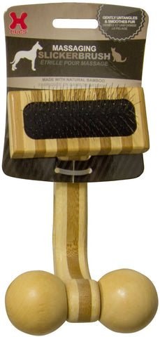 Hugs Pet Products HUG-50006 Massaging Pet Slicker Brush