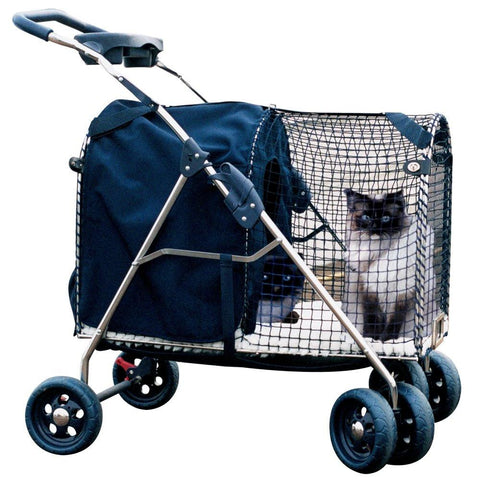 Kittywalk 5th Ave Luxury Pet Stroller SUV (KWPS 5AVE SUV) - Peazz Pet - 1