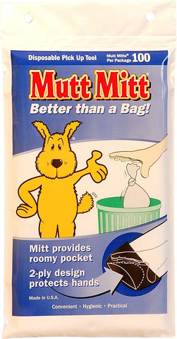 Mutt Mitt F2540 Waste Disposal Bags 100 pack