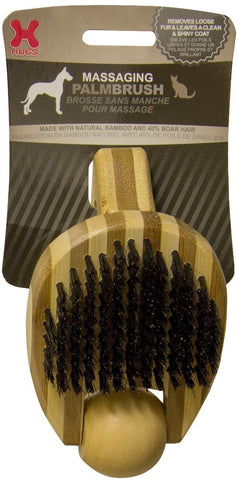 Hugs Pet Products HUG-50008 Massaging Pet Palm Brush