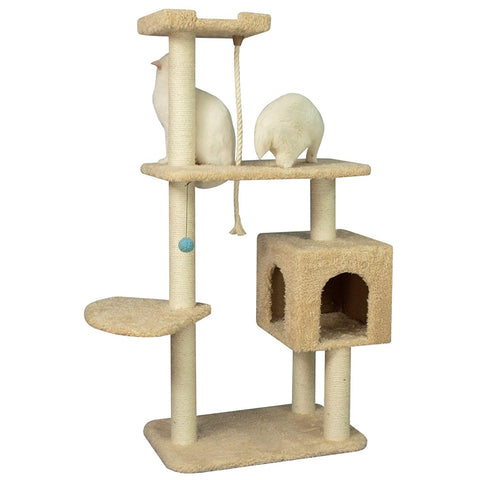 Armarkat Cat Tree Three Levels and a Box Condo