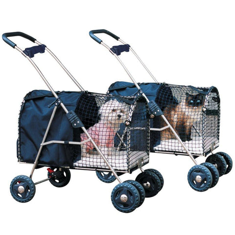 Kittywalk 5th Ave Luxury Pet Stroller (KWPS 5AVE) - Peazz Pet - 3