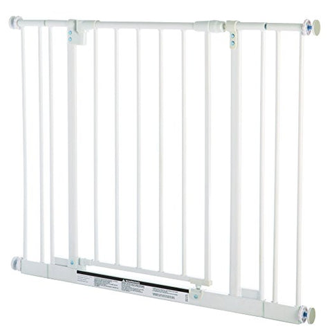North States NS4991S Easy-Close Pressure Mounted Pet Gate