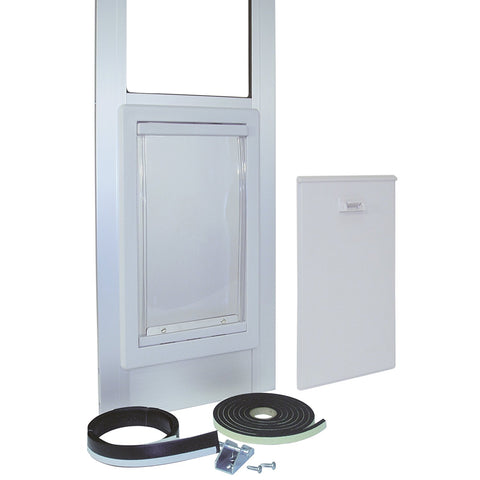 Ideal Modular Pet Patio Door Mill Finish - Medium (MODPATMM)