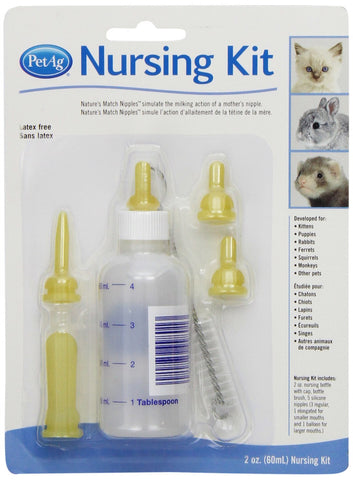 PetAg 11891 PetAg Nursing Kit, 2 oz. Bottle - Peazz Pet