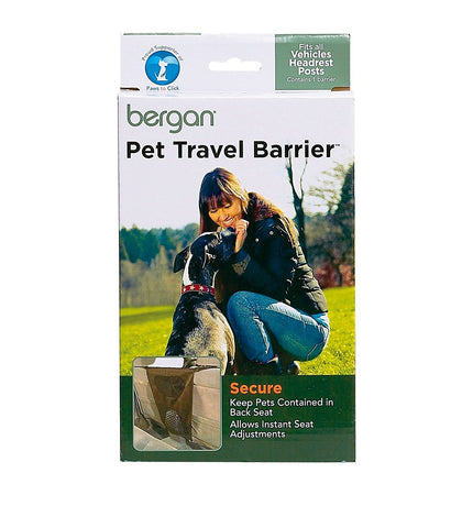 Bergan BER-88115 Pet Car Travel Barrier