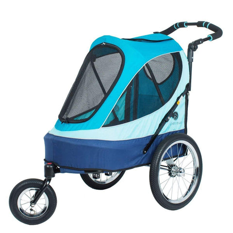 Petique JG01500103 All Terrain Jogger-Sailboat Pet Stroller, Sailboat, One Size