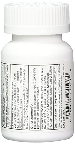 SDA Laboratories, Inc. 16835 Diphenhydramine HCL 50 mg, 100 Capsules