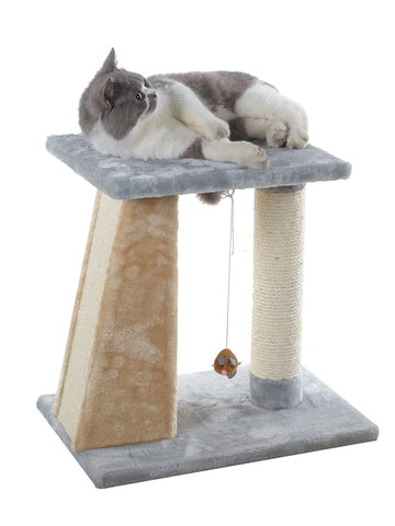 Armarkat Indoor Scratch Post Furniture Play with Toy X2001