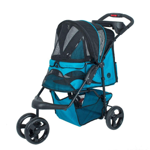 Petique ST01501103 Mermaid Pet Stroller, Mermaid, One Size