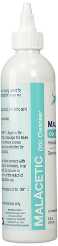 Malacetic Otic Ear and Skin Cleanser, 8 oz.