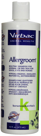 Allergroom Shampoo, 16 oz - Peazz Pet