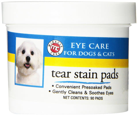 Miracle Corp MC424271 Eye Clear Tear Stain Pads 90 count