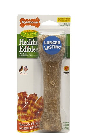 Nylabone NEB105 Healthy Edible Souper Bone Bacon