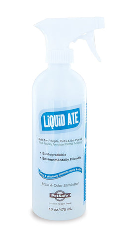 Liquid-Ate Enzyme Cleaning Solutions 17 ounces - Peazz.com