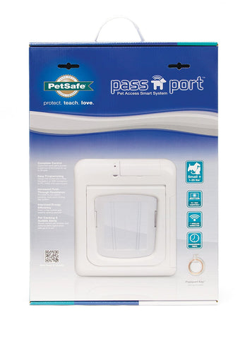 "PetSafe Passport Pet Access Smart System Small 7.125"" x 8.25"" (PPA00-13795) - Peazz.com"