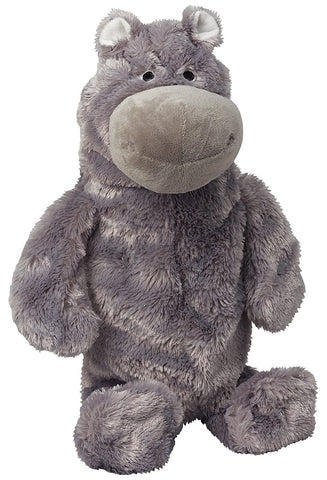 Doggles TYTLHP09 2-Liter Hippo Dog Toy, Gray