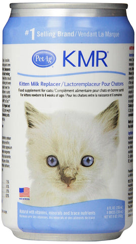 PetAg 15027 KMR Milk Replacer, 8 oz. Liquid - Peazz Pet