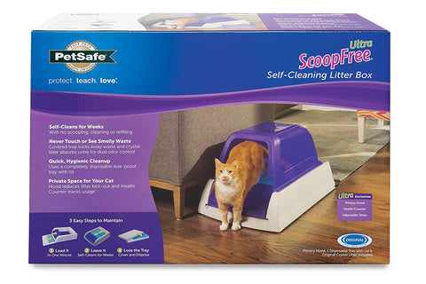 "ScoopFree Ultra Self-Cleaning Litter Box 27.375"" x 19"" x 16.75"""