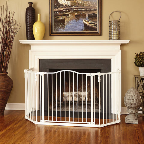 North States NS4958 6-Bar Linen Extension for Deluxe Décor Gate