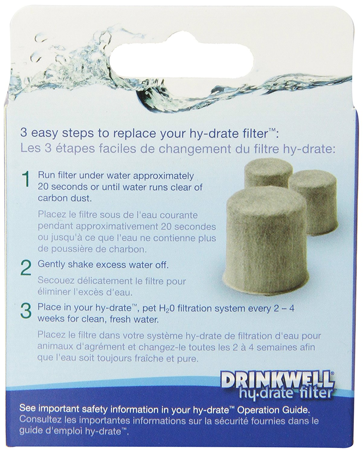 Petsafe Pfd17-12905 Drinkwell Hy-drate Replacement Filter...