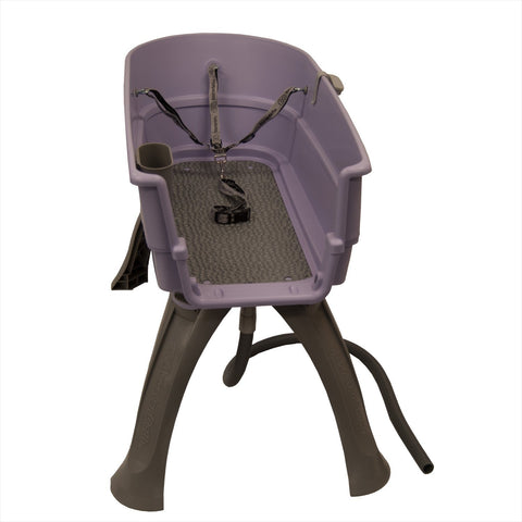 Booster Bath BB-LARGE-LILAC Elevated Dog Bath and Grooming Center