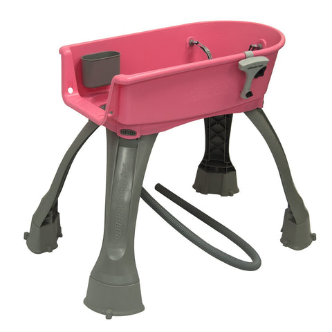 Booster Bath BB-MED-PINK Elevated Dog Bath and Grooming Center