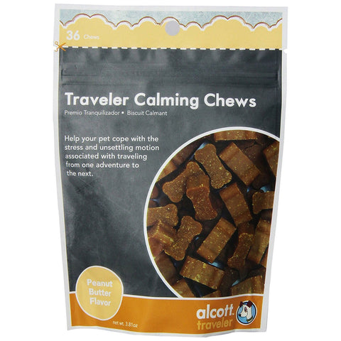 Alcott HLT-TR-OS-CT Traveler Calming Chews Peanut Butter 36 count