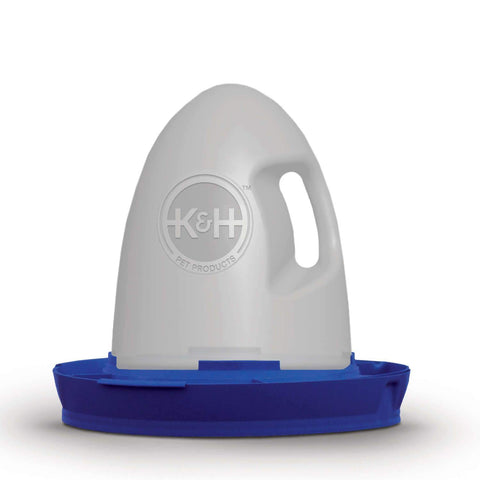 K&H Pet Products KH2060 Poultry Waterer Unheated 2.5 gallon