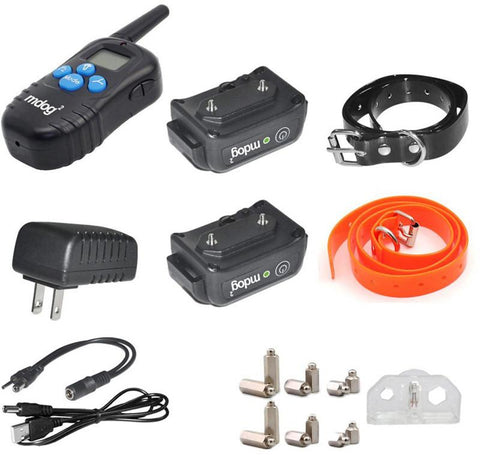 MDOG2 MD2-998DBB 330 Yard Remote Training Collar with Beep, Vibration, and Shock - Peazz Pet - 7