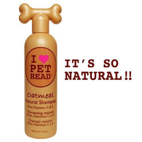 Pet Head PH10117 Oatmeal Natural Shampoo 12oz