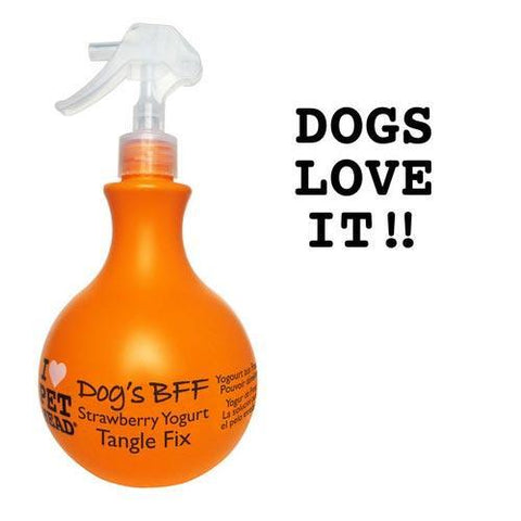 Pet Head PH10303 Dog's B.F.F. Tangle Fix Spray Strawberry Yogurt 15oz