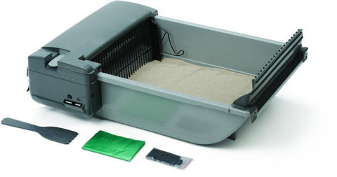 Our Pets  1073211347 Deluxe Smartscoop Self-Scooping Litter Box - Peazz.com