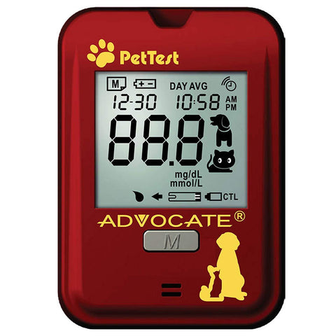 PetTest PT-100 Blood Glucose Meter Kit