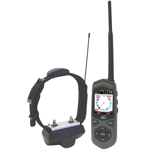 D.E. Systems TC1 Border Patrol: GPS Dog Containment System, Remote Trainer and Short-Range Tracking Unit