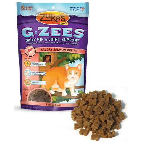 Zuke's Z-91054 Cat G-Zees Daily Hip and Joint Support Salmon 3oz